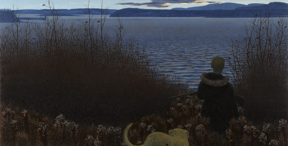 Colville Alex Dog Boy And St  John River 1958 59 A 79 Sm